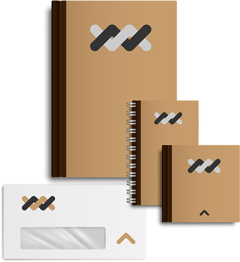 Elementos de mercadeo, cuadernos, libretas y sobres - Trocol Impresores